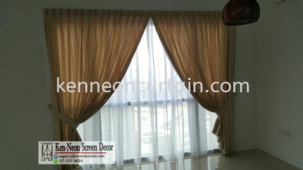 双层窗帘设计与安装   Supplier, Installation, Supply, Supplies | Ken-Neon Screen Decor