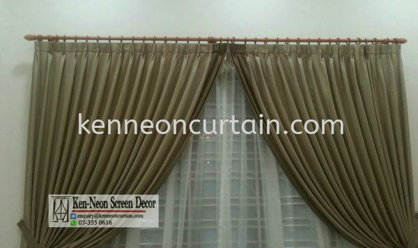 Day and Night Curtain Design  Johor Bahru (JB), Malaysia, Taman Molek Supplier, Installation, Supply, Supplies | Ken-Neon Screen Decor