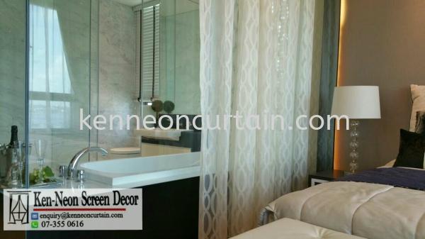 Day Curtains Design  Johor Bahru (JB), Malaysia, Taman Molek Supplier, Installation, Supply, Supplies | Ken-Neon Screen Decor