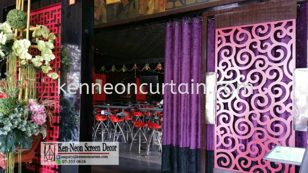 Eyelets Curtain Design    Supplier, Installation, Supply, Supplies | Ken-Neon Screen Decor