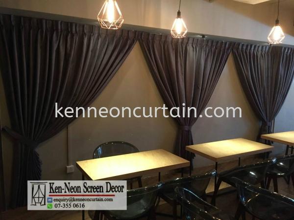 Night Curtains Design  Johor Bahru (JB), Malaysia, Taman Molek Supplier, Installation, Supply, Supplies | Ken-Neon Screen Decor