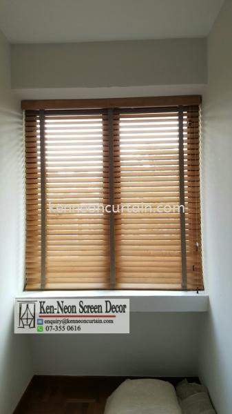 Timber Blinds Johor Bahru (JB), Malaysia, Taman Molek Supplier, Installation, Supply, Supplies | Ken-Neon Screen Decor