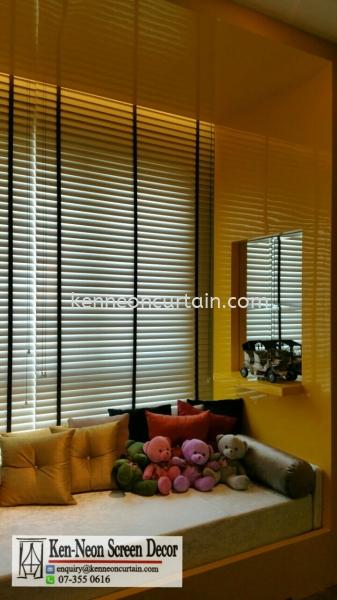 Timber Blinds Johor Bahru (JB), Malaysia, Taman Molek Supplier, Installation, Supply, Supplies   Ken-Neon Screen Decor