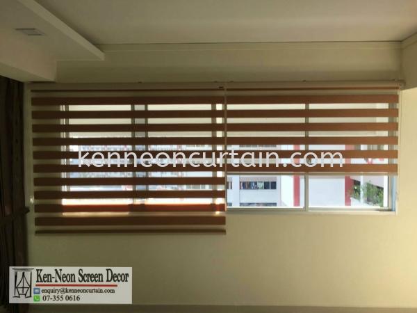 Zebra Blinds Johor Bahru (JB), Malaysia, Taman Molek Supplier, Installation, Supply, Supplies | Ken-Neon Screen Decor