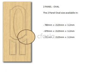 High Density Fibreboard (HDF) - Moulded Door Skin