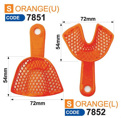 Resin Impression Tray - Size S (Code 7851&7852) Resin Impression Tray Impression Tray Dentist Products Selangor, Malaysia, Kuala Lumpur (KL), Puchong Supplier, Suppliers, Supply, Supplies | USE Electronics (M) Sdn Bhd