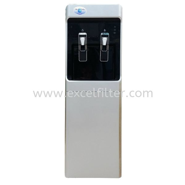 (FS-HC-W28+R-Grey) Hot Cold Floor Standing Water Dispenser (Korea Model)-Bottle Type / Pipe In Water Dispenser & Water Cooler Selangor, Malaysia, Kuala Lumpur (KL), Cheras Supplier, Suppliers, Supply, Supplies | Excel Filter Sdn Bhd