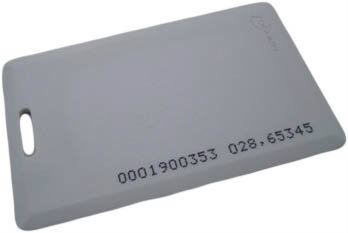 DPC001 - EM RFID Proximity Card with Serial Number (Thick) Accesories Access Control System Johor Bahru (JB) Supplier, Supply, Installation | Smart Secure & Automation Sdn Bhd
