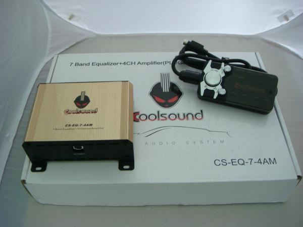 Cool Sound CS-EQ-7-4AM Plug & Play 4 Channel Amplifier- Toyota/ Honda/ Proton (S/N: 000456) Audio Accessories In Car Entertainment JB Johor Bahru Malaysia Supply Suppliers  | C & C Auto Supplies (M) Sdn. Bhd.