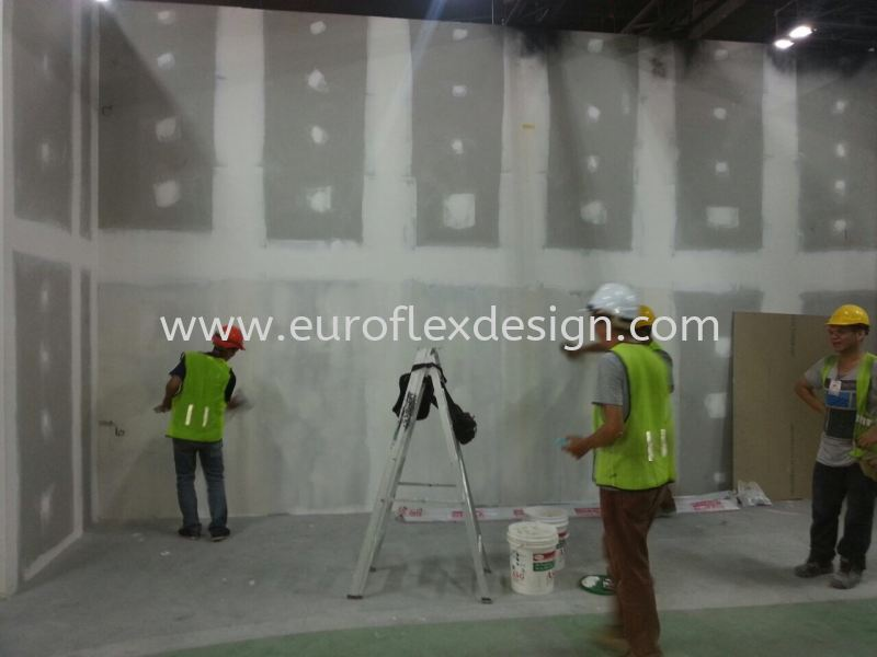 Partition Work  Johor Bahru (JB), Bukit Indah Service, Design, Renovation | Euroflex Design And Construction Work