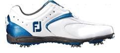 FJ EXL Golf Shoe White/Blue 2016