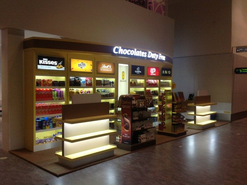Chocolate Duty Free Promotion Booth Kuala Lumpur (KL), Malaysia, Selangor Design, Service | Thinkers Strategy Sdn Bhd