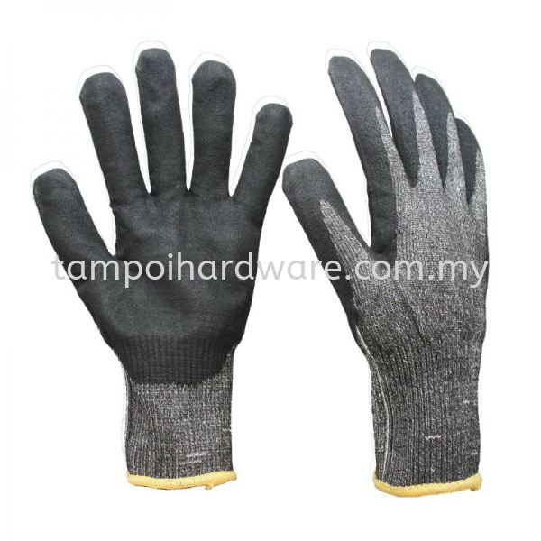 Nitrile Coated Cut Resistant Glove Hand Protections Personal Protective Equipments Johor Bahru (JB), Malaysia, Tampoi Supplier, Suppliers, Supply, Supplies | Tampoi Hardware Sdn Bhd