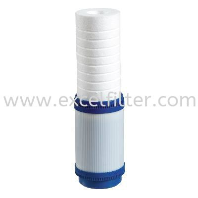 "(PPC10) 10"" Sediment + Carbon filter Polyproplene Filter/ PP Fibre Refill Filter Selangor, Malaysia, Kuala Lumpur (KL), Cheras Supplier, Suppliers, Supply, Supplies 