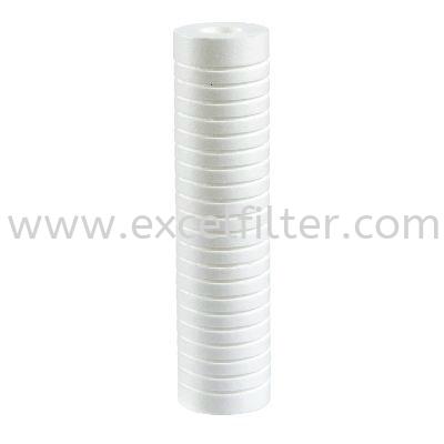 "(PPG10-5M) 10"" PP Grove Filter Polyproplene Filter/ PP Fibre Refill Filter Selangor, Malaysia, Kuala Lumpur (KL), Cheras Supplier, Suppliers, Supply, Supplies   Excel Filter Sdn Bhd"