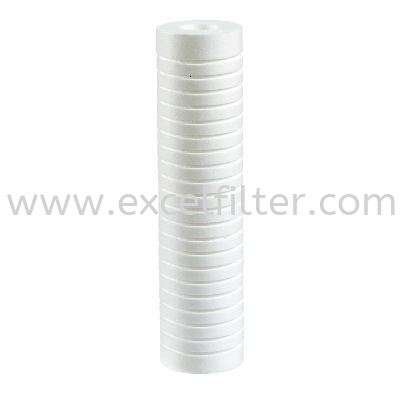 "(PPG10-5M) 10"" PP Grove Filter Polyproplene Filter/ PP Fibre Refill Filter Selangor, Malaysia, Kuala Lumpur (KL), Cheras Supplier, Suppliers, Supply, Supplies 
