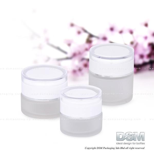 D 001 - 20g, 30g,50g Glass Container Malaysia, Kuala Lumpur (KL), Selangor, Kepong. Manufacturer, Wholesaler, Supplier, Supply | DSM Packaging Sdn Bhd