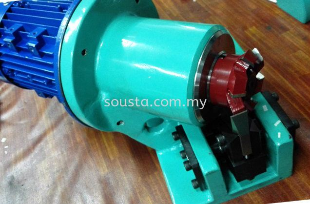 Cast Iron Block with cutter for trimming brushes Others Johor Bahru (JB), Malaysia Sharpening, Regrinding, Turning, Milling Services | Sousta Cutters Sdn Bhd