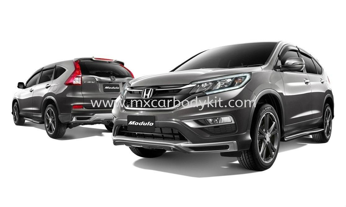 HONDA CRV 2015 MODULO BODYKIT + SPOILER  CRV 2015 HONDA Johor, Malaysia, Johor Bahru (JB), Masai. Supplier, Suppliers, Supply, Supplies | MX Car Body Kit