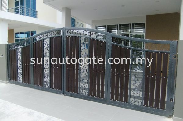 00036 Wrough Iron And Aluminium Penang, Malaysia, Bukit Mertajam, Simpang Ampat Autogate, Gate, Supplier, Services | Sun Autogate & Engineering