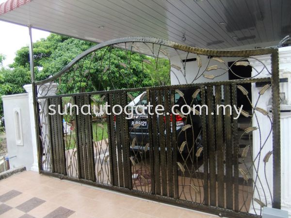 DSCF1919 Wrough Iron Penang, Malaysia, Bukit Mertajam, Simpang Ampat Autogate, Gate, Supplier, Services | Sun Autogate & Engineering