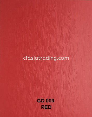 CODE : GD009 RED SOLID DESIGN Melamine Particle Board Johor Bahru (JB), Malaysia. Supplier, Suppliers, Supply, Supplies | CF ASIA TRADING SDN BHD