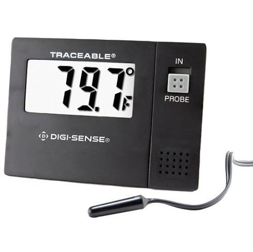 Digi-Sense Calibrated Monitoring Remote Probe Thermometer