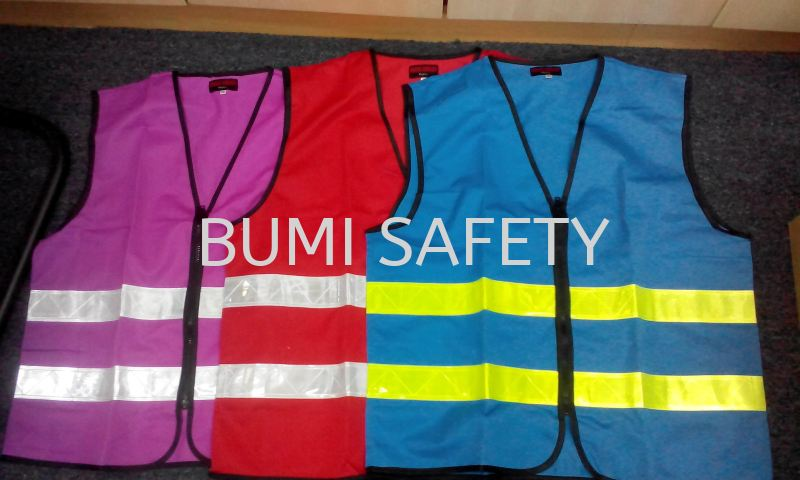 Safety vest c/w reflector Safety Vest Safety Vest / Traffic Control Selangor, Kuala Lumpur (KL), Puchong, Malaysia Supplier, Suppliers, Supply, Supplies | Bumi Nilam Safety Sdn Bhd