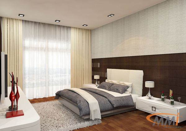 Bedroom Design Paragon Residence Bedroom Design Bedroom Design Johor Bahru, JB, Ulu Tiram Design   Mandali Concept Sdn Bhd