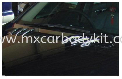 MERCEDES BENZ C-CLASS W204 2007 & ABOVE HOOD AIR VENT SL LOOK W204 (C CLASS) MERCEDES BENZ Johor, Malaysia, Johor Bahru (JB), Masai. Supplier, Suppliers, Supply, Supplies | MX Car Body Kit