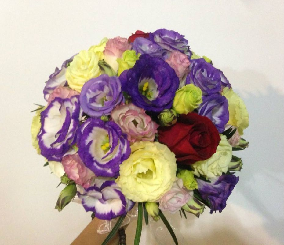 Eustomas Bridal Bouquet (BB-182)