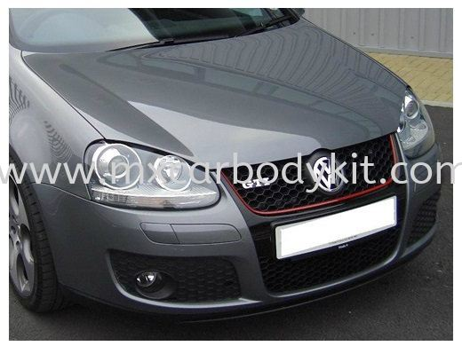 VOLKSWAGEN GOLF 2003-2007 GTI STYLE FRONT BUMPER W/LOWER GRILLE,UPPER GRILLE & FOG LAMP PROJECTOR GOLF VOLKSWAGEN Johor, Malaysia, Johor Bahru (JB), Masai. Supplier, Suppliers, Supply, Supplies | MX Car Body Kit