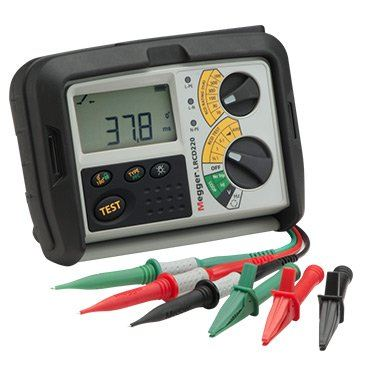 Megger LRCD220 Non-tripping loop and RCD tester