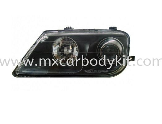 PROTON WAJA 2000 & ABOVE HEAD LAMP CRYSTAL GLASS LENS BLACK HEAD LAMP ACCESSORIES AND AUTO PARTS Johor, Malaysia, Johor Bahru (JB), Masai. Supplier, Suppliers, Supply, Supplies | MX Car Body Kit