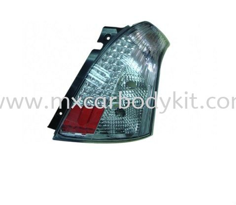 SUZUKI SWIFT 2005 & ABOVE REAR LAMP CRYSTAL LED REAR LAMP ACCESSORIES AND AUTO PARTS Johor, Malaysia, Johor Bahru (JB), Masai. Supplier, Suppliers, Supply, Supplies | MX Car Body Kit