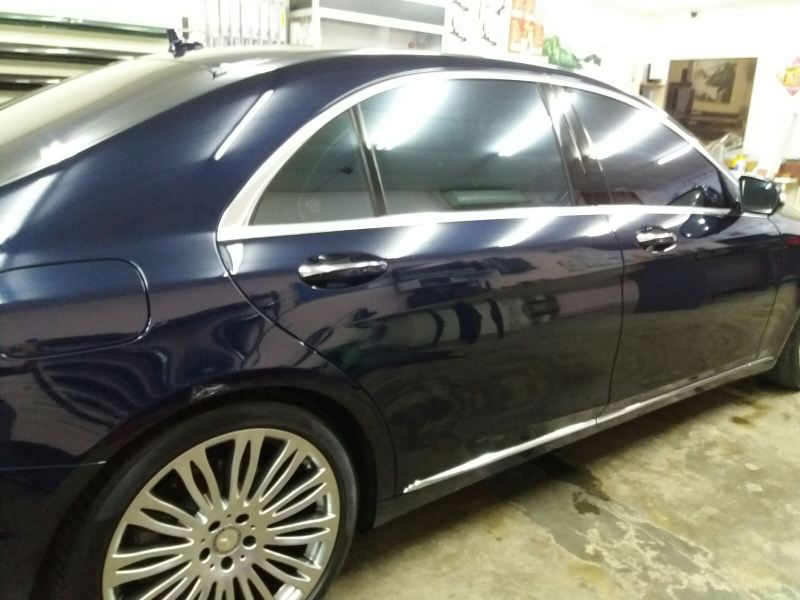 3) Benz S400 Car Tinting- ASWF Charoal 15 & Excel IRP 25 Mercedes-Benz ASWF - Made in USA Kuala Lumpur (KL), Selangor, Malaysia. Installation, Supplier, Specialist | Savgard Windscreen & Tint Specialist