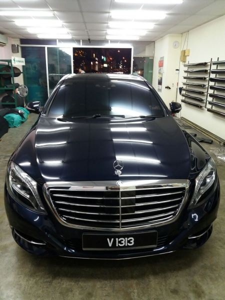 1) Benz S400 Car Tinting - ASWF Charoal 15 & Excel IRP 25 Mercedes-Benz ASWF - Made in USA Kuala Lumpur (KL), Selangor, Malaysia. Installation, Supplier, Specialist | Savgard Windscreen & Tint Specialist