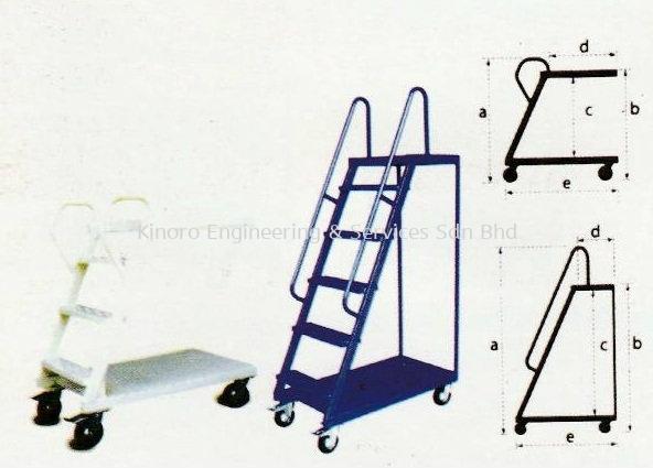Model SK Series Ladder Trolley Malaysia, Selangor, Kuala Lumpur (KL), Klang Supplier, Suppliers, Supply, Supplies | Kinoro Engineering & Services Sdn Bhd