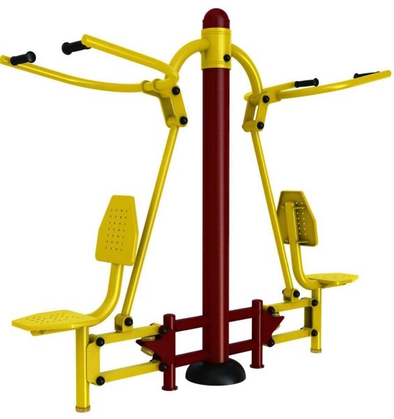 PC-SE-02 - Lat Pulldown Outdoor Fitness Penang, Malaysia, Perak, Jelutong, Ipoh Supplier, Supply, Supplies, Setup   Arah Bumiraya Sdn Bhd/Olympic Sports & Fitness Sdn Bhd