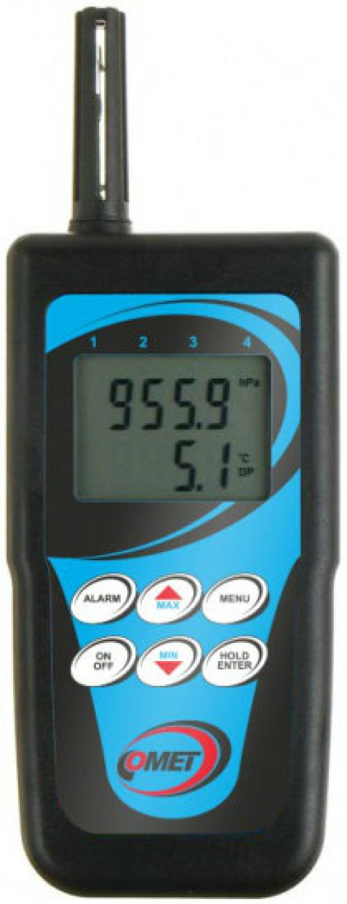 c3633 Thermo-hygrometer with magnetic temperature probe for measuring surface temperatures