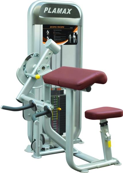 PL 9023 每 BicepsI / Triceps Plamax Series Strength Machine Commercial GYM Penang, Malaysia, Perak, Jelutong, Ipoh Supplier, Supply, Supplies, Setup | Arah Bumiraya Sdn Bhd/Olympic Sports & Fitness Sdn Bhd