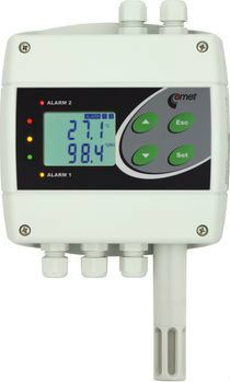 H7530 - thermometer hygrometer barometer with Ethernet interface and relays