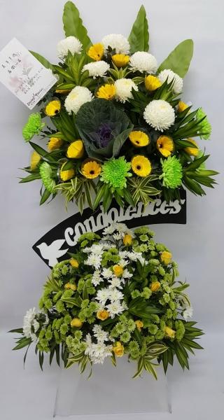 RIP Flower Arrangement (FA-138) Big Funeral Flower Arrangement Funeral Arrangement Kuala Lumpur (KL), Selangor, Malaysia Supplier, Suppliers, Supply, Supplies | Shirley Florist