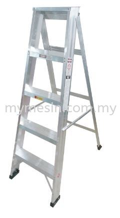 Aluminium Single Sided A Shape Step Ladder