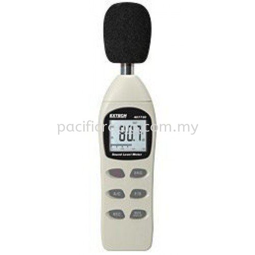 Extech 407730 Digital Sound Level Meter EXTECH Sound Meter Malaysia, Kuala Lumpur, KL, Singapore. Supplier, Suppliers, Supplies, Supply | Pacific Radio (M) Sdn Bhd