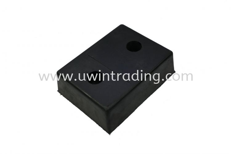 Rectangular Rubber Docking Bumper - Rectangular