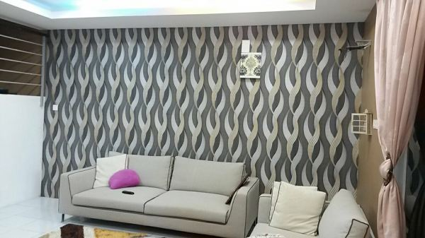 New Wallpaper Design Install In Pontian  Pontian Wallpaper Design 墙纸   Supplier, Suppliers, Supplies, Supply | Kim Curtain Design Sdn Bhd