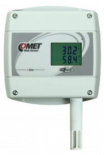 Web Sensor T3610 with PoE - remote thermometer hygrometer with Ethernet interface