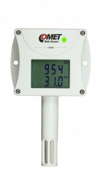 Web sensor T6540 - remote CO2 concentration thermometer hygrometer with Ethernet interface