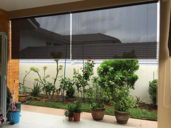 Outdoor Roller Blind Outdoor Blinds Johor Bahru (JB), Malaysia, Tampoi Supplier, Suppliers, Supplies, Supply | Kim Curtain Design Sdn Bhd